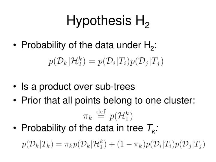 Hypothesis H