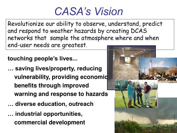 CASA's Vision