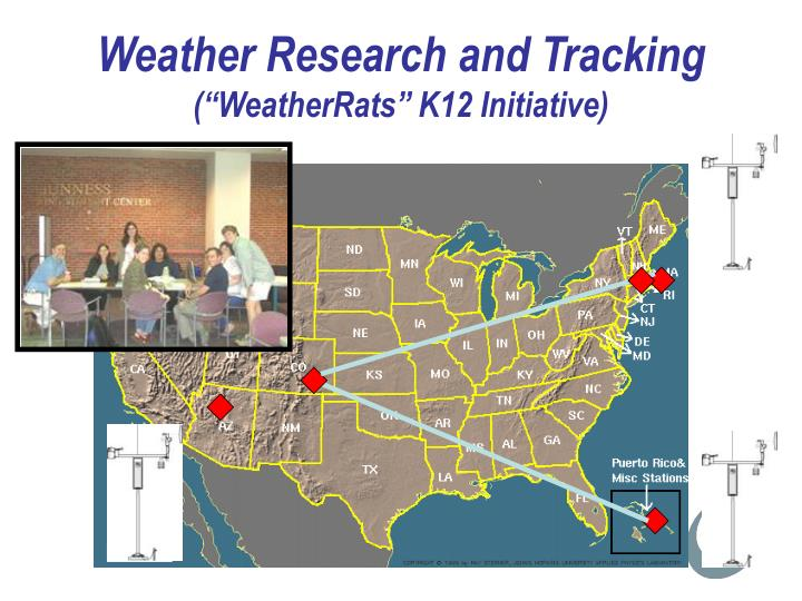 Weather Research and Tracking