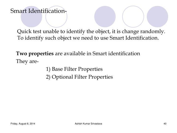 Smart Identification-