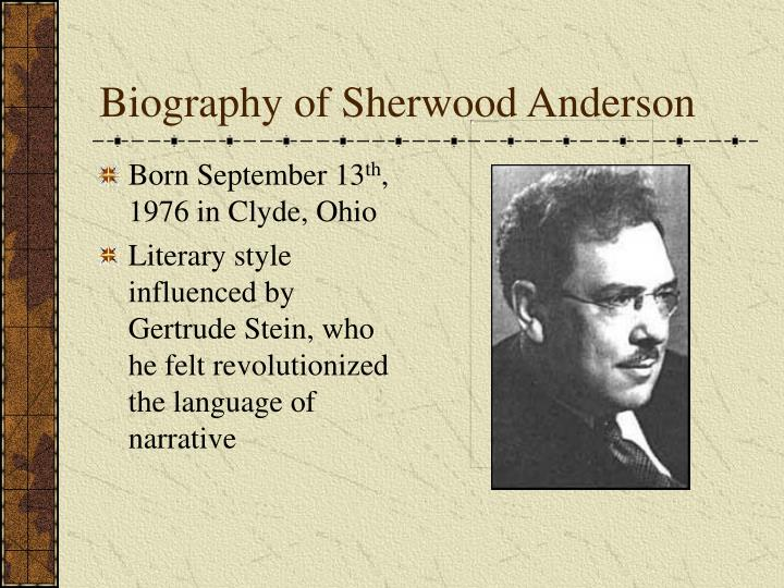 paper pills by sherwood anderson Essay sherwood anderson's paper pills: deception in the title sherwood  anderson, in the title paper pills, tries to persuade us, the readers, in believing  the.