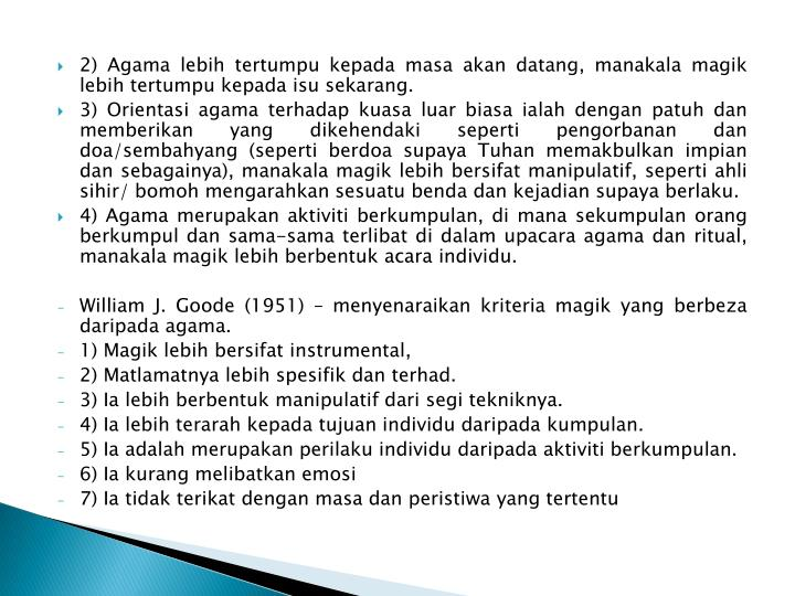 2) Agama