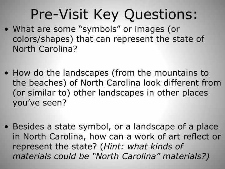 Pre-Visit Key Questions: