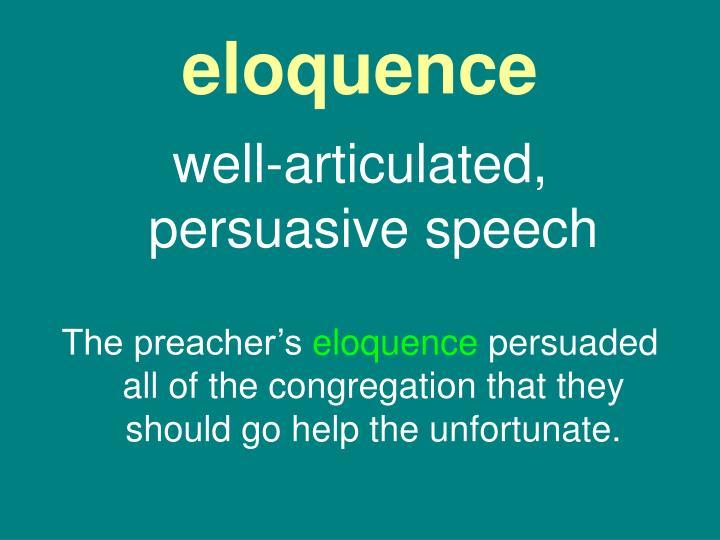 eloquence