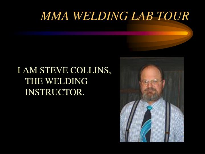 Mma welding lab tour1