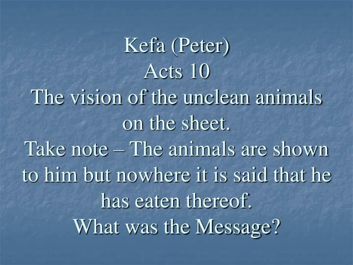 Kefa (Peter)