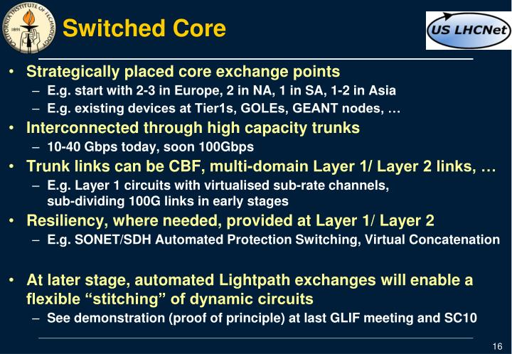Switched Core