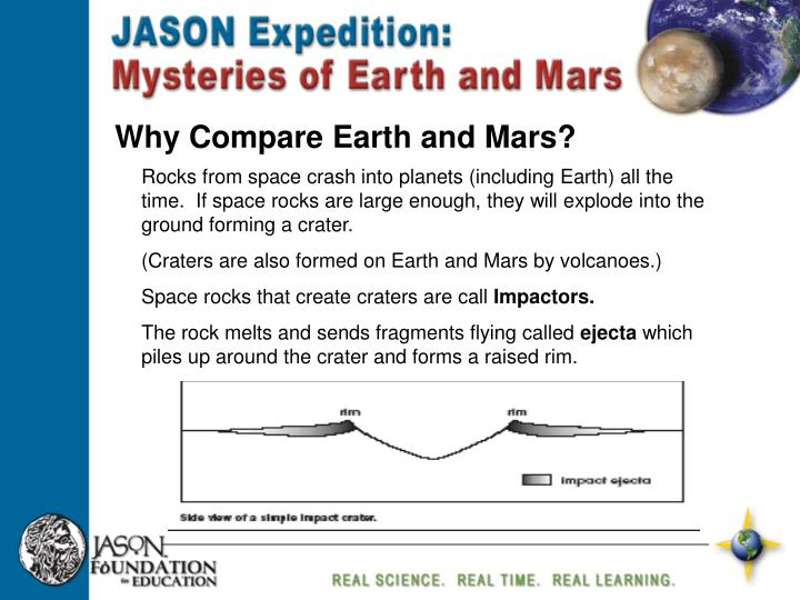 Why Compare Earth and Mars?