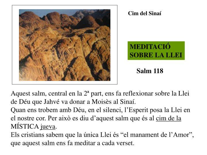 Cim del Sinaí
