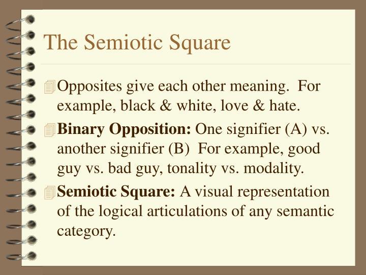 The Semiotic Square