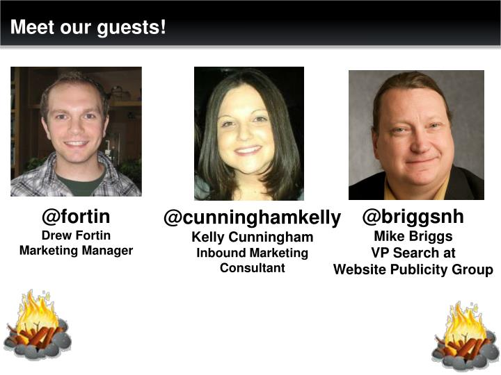 Meet our guests!
