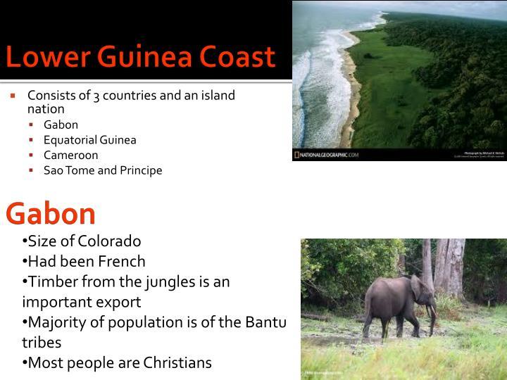 Lower Guinea Coast