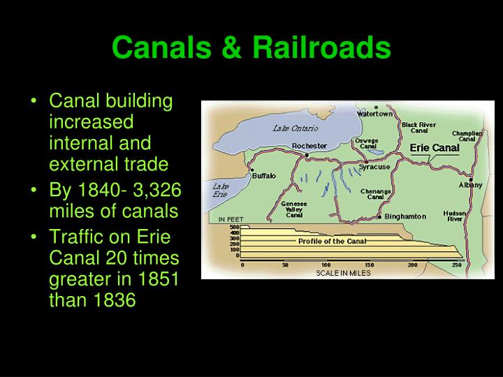 Canals & Railroads