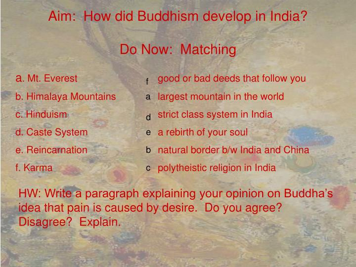 the nature of religion buddhism essay