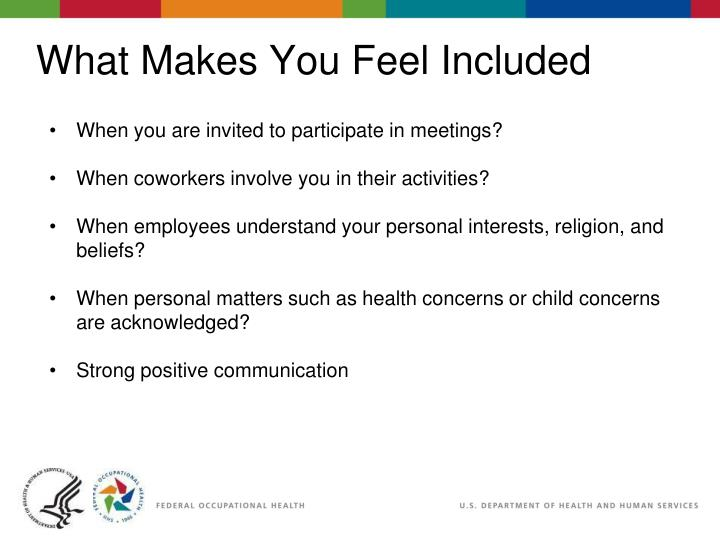 When you are invited to participate in meetings?
