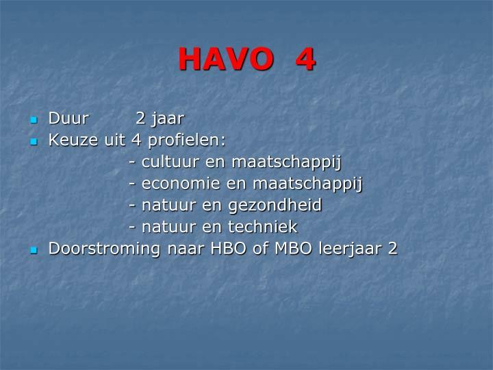 HAVO  4