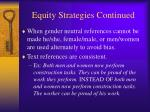 equity strategies continued5