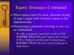 equity strategies continued7