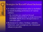 strategies for racial cultural inclusion2