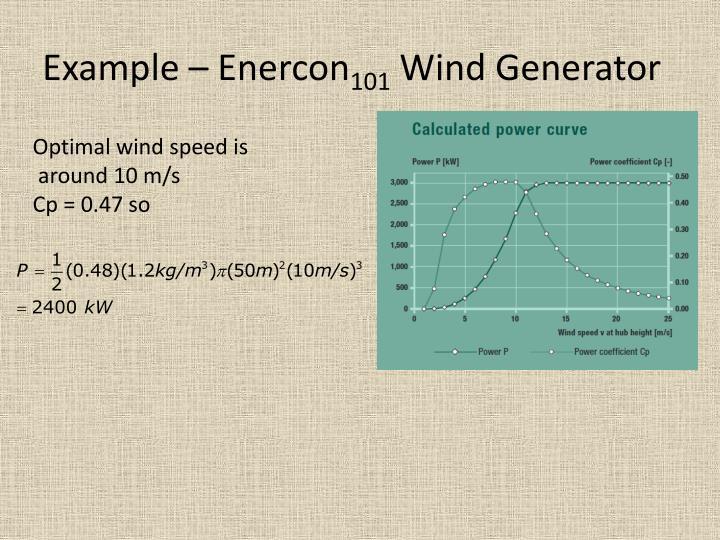 Example – Enercon