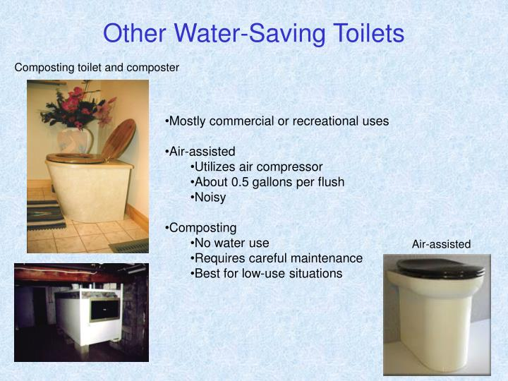 Other Water-Saving Toilets