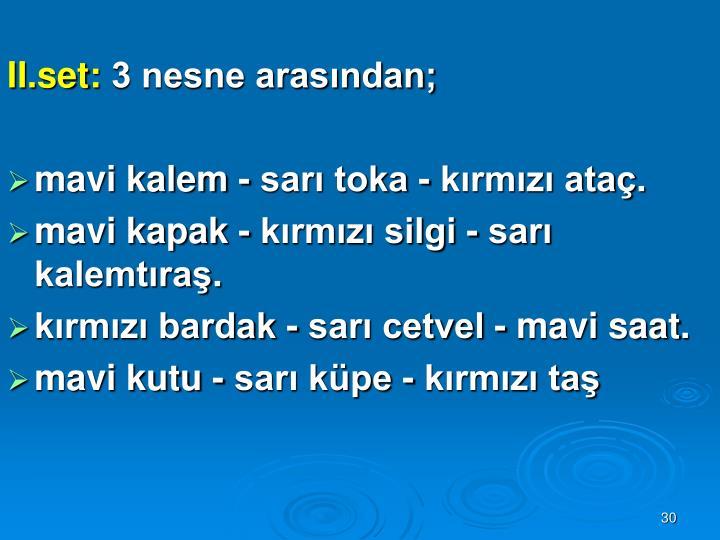 II.set: