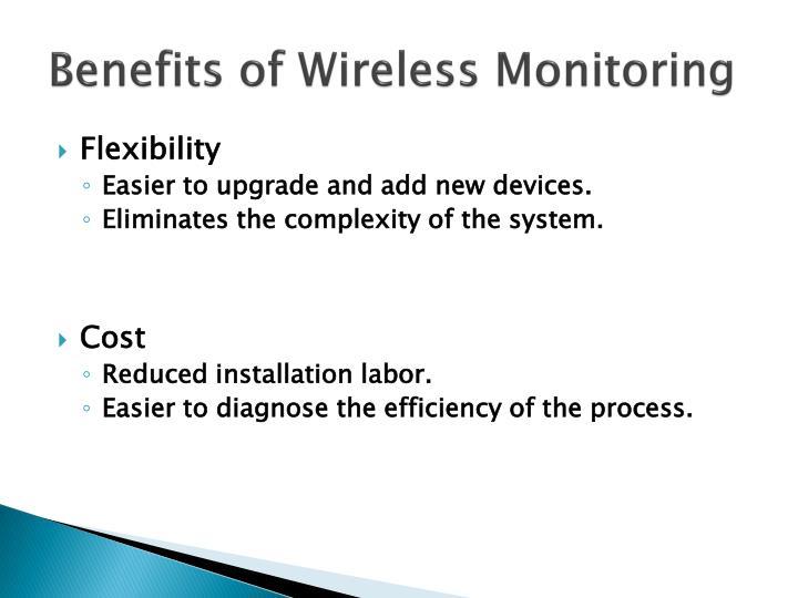 Benefits of Wireless Monitoring