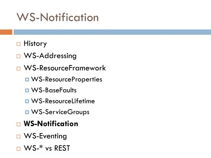 WS-Notification
