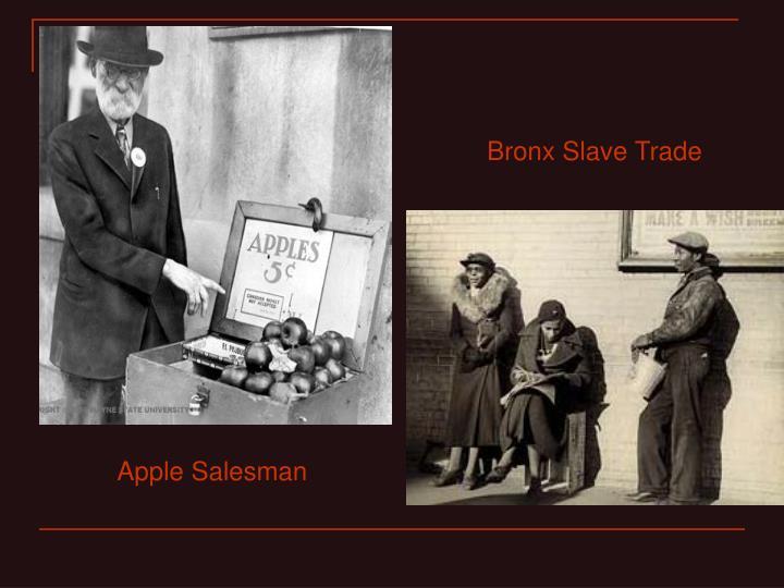 Bronx Slave Trade