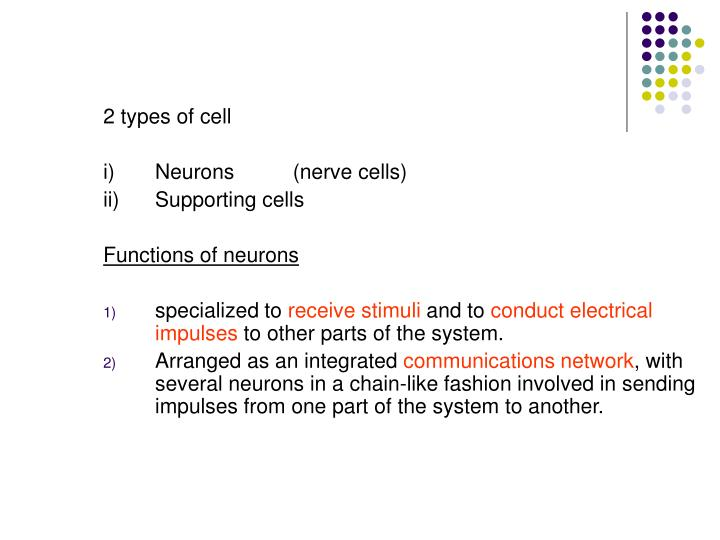 2 types of cell