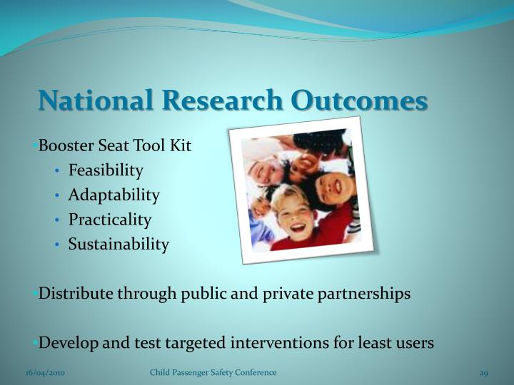 National Research Outcomes