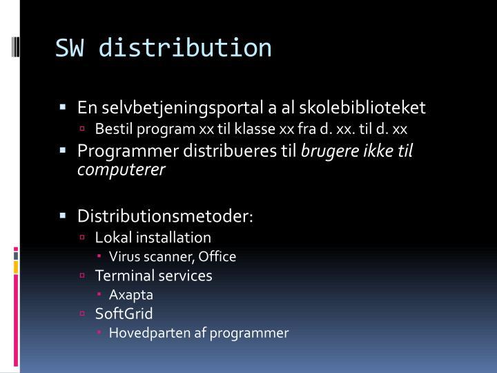 SW distribution