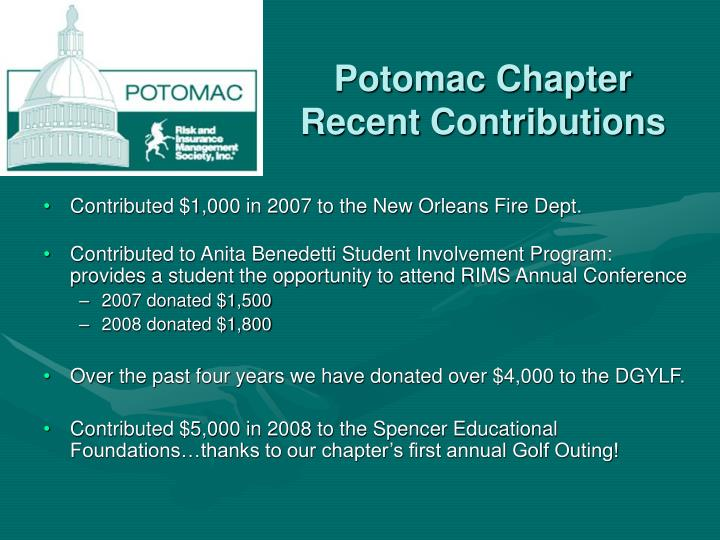 Potomac Chapter