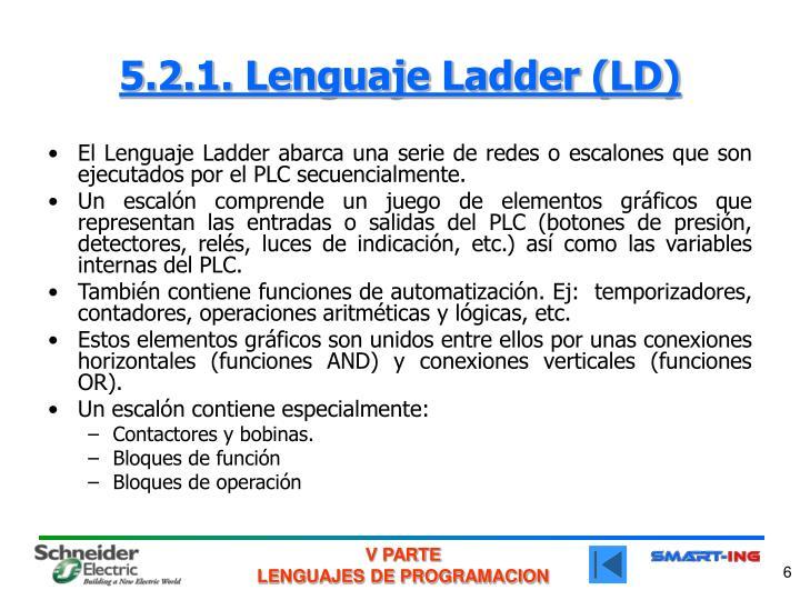 5.2.1. Lenguaje Ladder (LD)