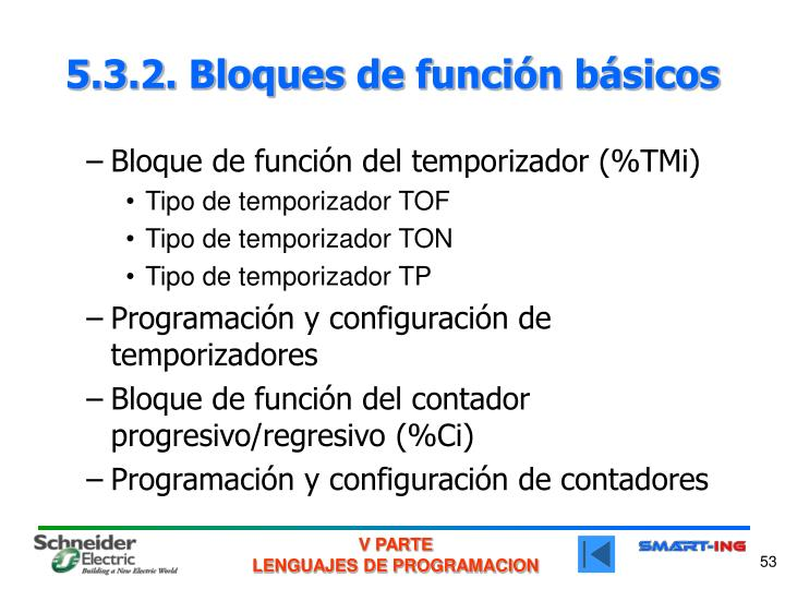 5.3.2. Bloques de función básicos