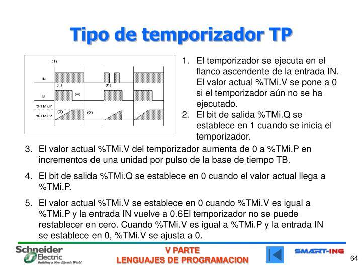 Tipo de temporizador TP