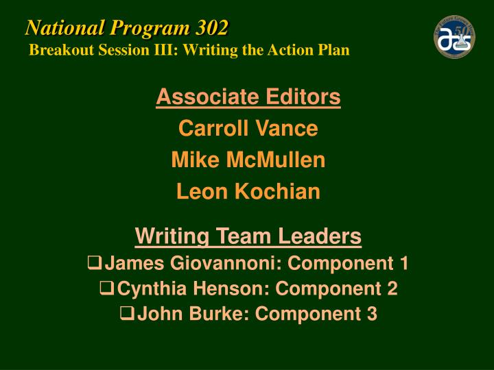 National Program 302