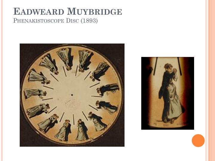 Eadweard muybridge phenakistoscope disc 1893