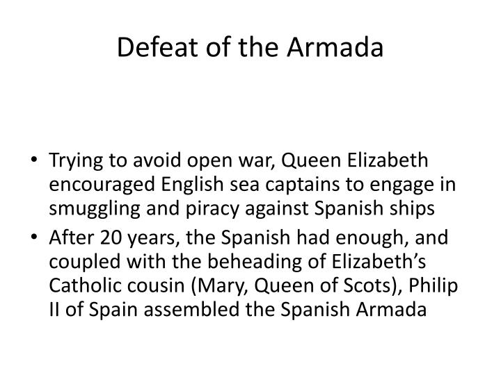 Defeat of the Armada