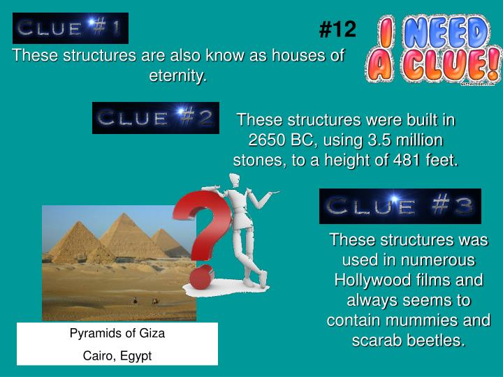 These structures are also know as houses of eternity.