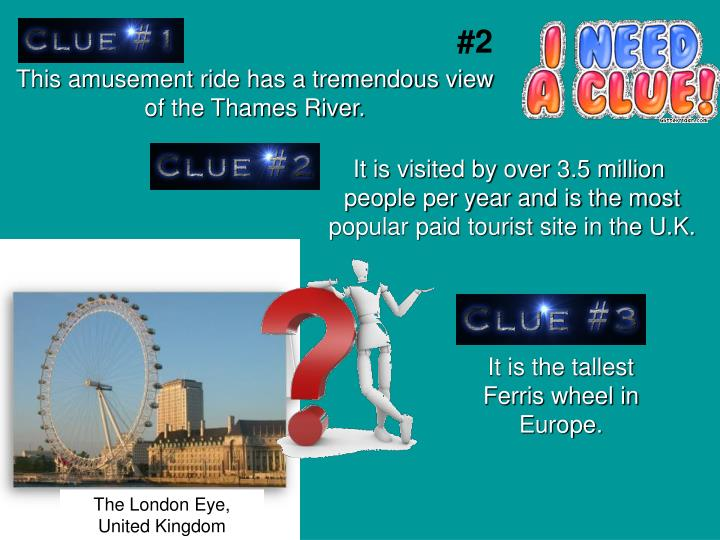 This amusement ride has a tremendous view of the Thames River.