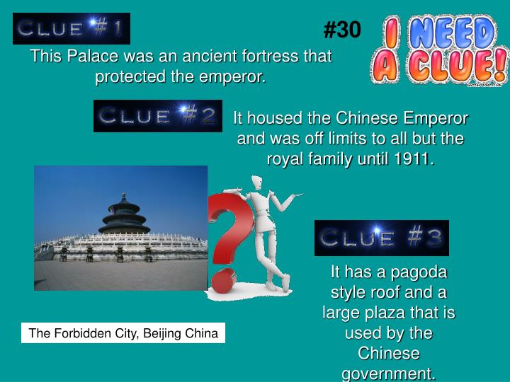 This Palace was an ancient fortress that protected the emperor.