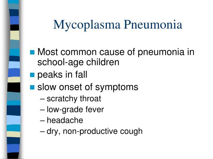 Mycoplasma Pneumonia