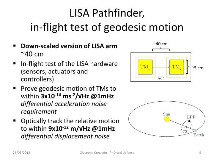 LISA Pathfinder,