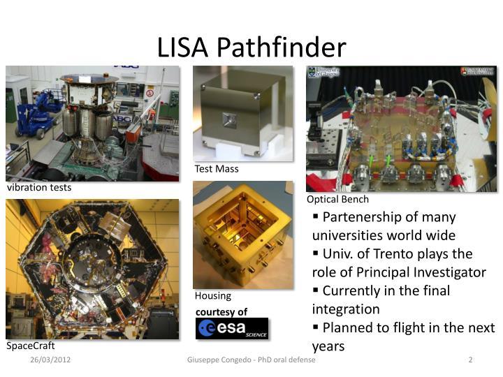 LISA Pathfinder