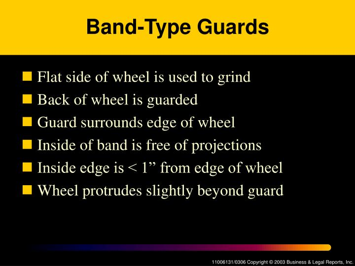 Band-Type Guards