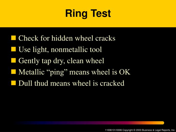 Ring Test