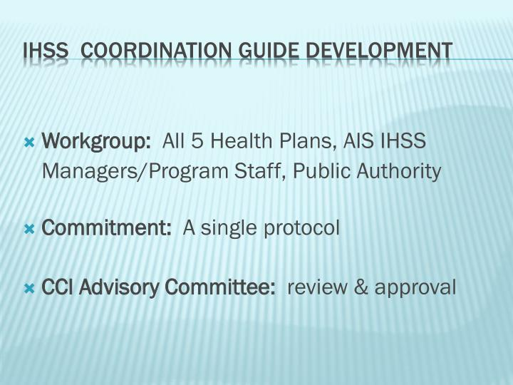 Workgroup:
