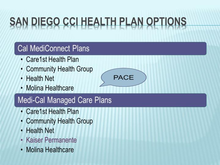 San Diego CCI