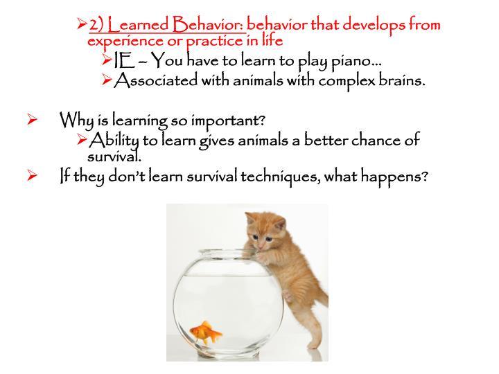 2) Learned